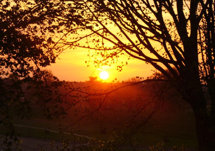SonnenuntergangOvalbahn