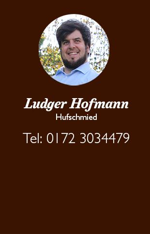 Kontakt Ludger Hofmann Tel